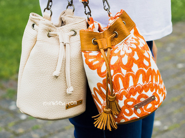 Picture of Lelia Mini Bucket Bag PDF Pattern