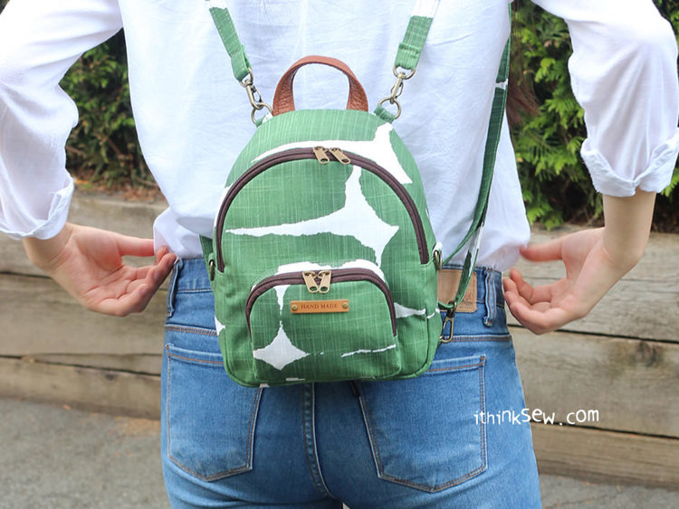 Picture of Magali Mini Backpack / Cross Bag PDF Pattern