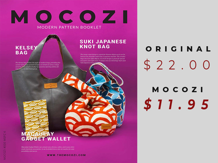 Picture of MOCOZI Issue #0006 MSPZ 6 (Bags and Gadget Wallet)