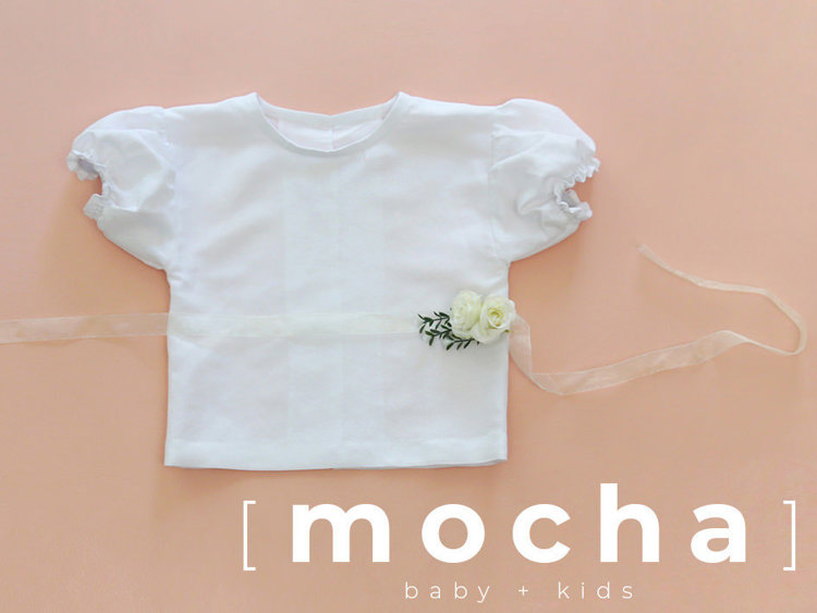 Picture of (6M- 24M) Yvonne Puffed Blouse PDF Pattern
