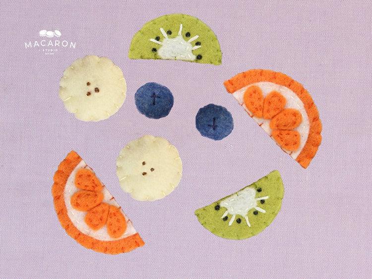 Picture of Felt Fruit PDF Pattern