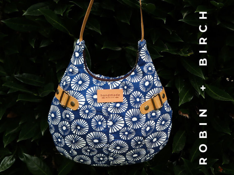 Picture of Jena Bag PDF Pattern with Video Tutorial