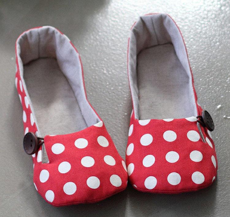 Picture of Daphne Women's Shoes PDF Pattern