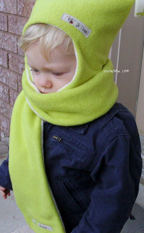 Picture of FREE - Addison Baby Hat & Muffler PDF Pattern