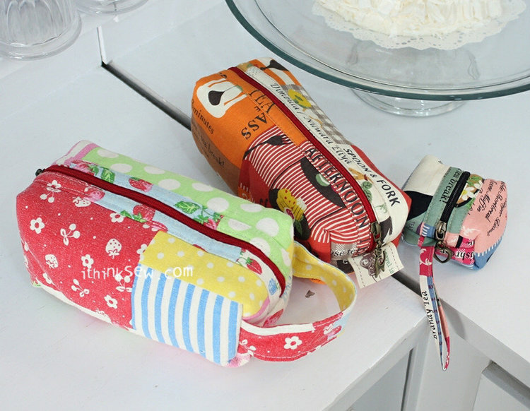 Picture of Nadia Pouch PDF Pattern(3 Sizes)
