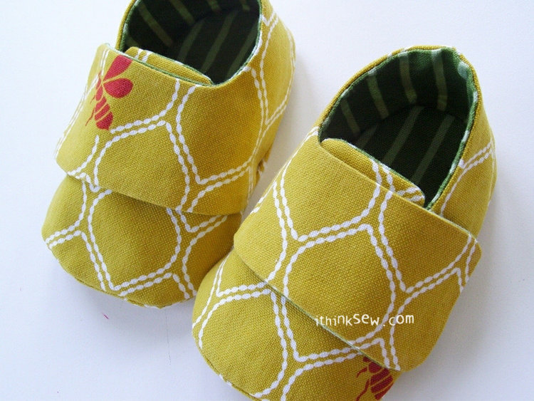 Picture of Cameron Baby Sneakers PDF Pattern