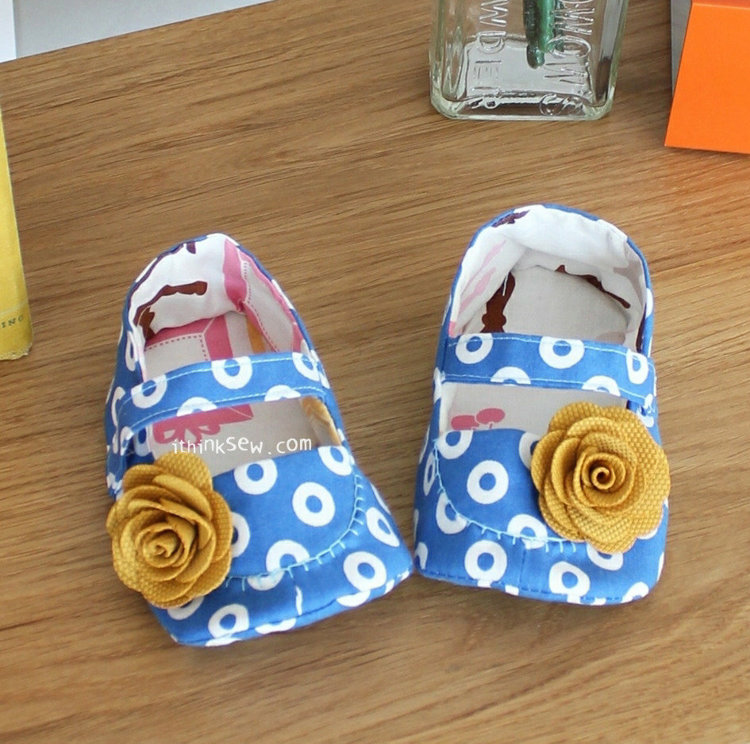 Picture of Jacqueline Baby Booties PDF Pattern