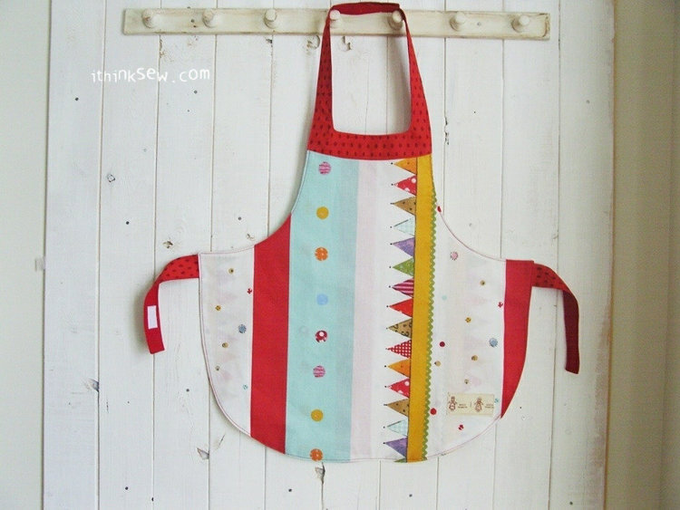 Picture of FREE - Alina Girls' Apron PDF Pattern