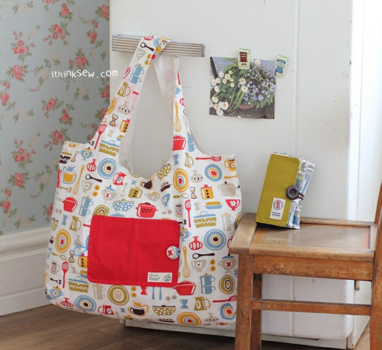 Picture of Eco-Friendly Shopping Bag PDF Pattern