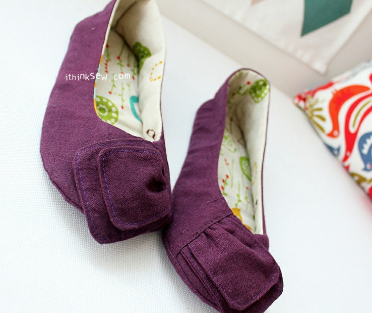 Picture of Elizabeth Women Shoes PDF Pattern