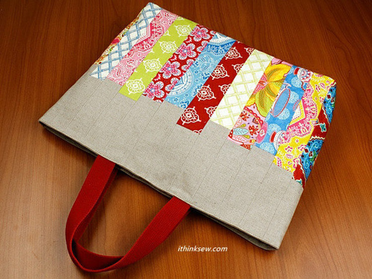 Picture of Janice Patchwork Bag PDF Pattern