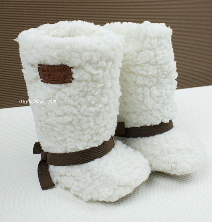 Picture of Karl Fur Boots PDF Pattern