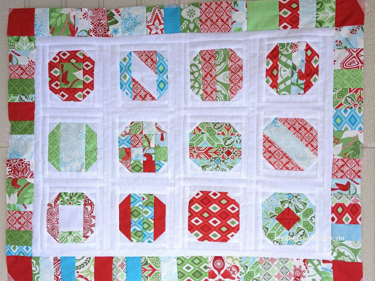 Picture of Ornamental Quilt Block PDF Pattern
