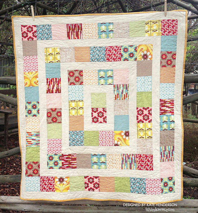 Picture of Cot Quilts PDF Pattern