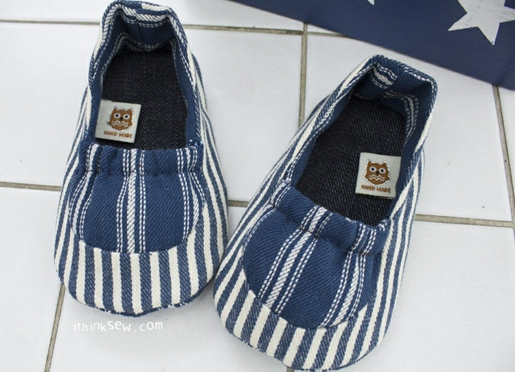 Picture of Glen Baby Shoes PDF Pattern