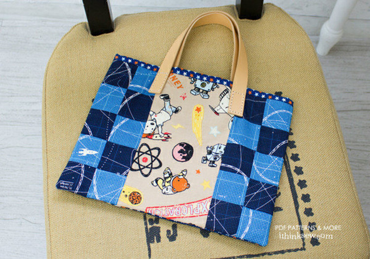 Picture of FREE - Kids Book Bag PDF Pattern