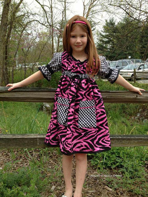Picture of The Hopscotch Dress PDF Pattern