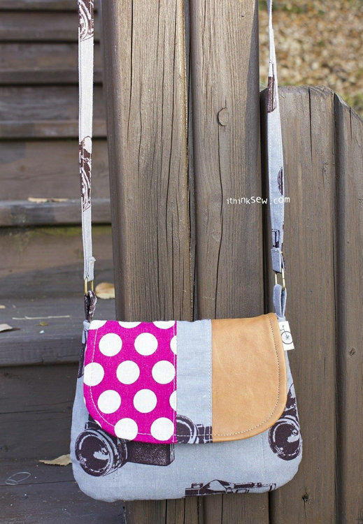 Picture of Catherine Clutch and Bag PDF Pattern