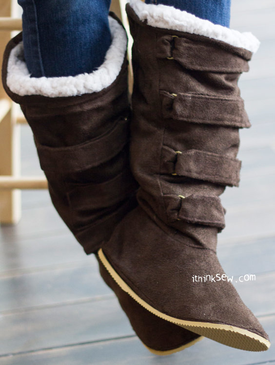 Picture of Ainsley Woman's Boots PDF Pattern
