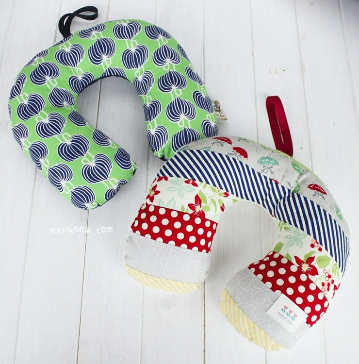 Picture of FREE - 3 Sizes Family Neck Pillows PDF Pattern