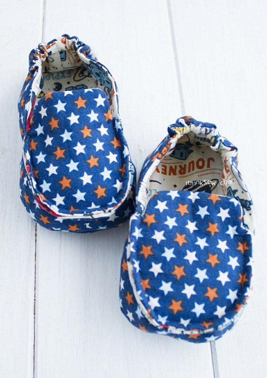 Picture of Kathy Baby & Toddler Moccasins PDF Pattern