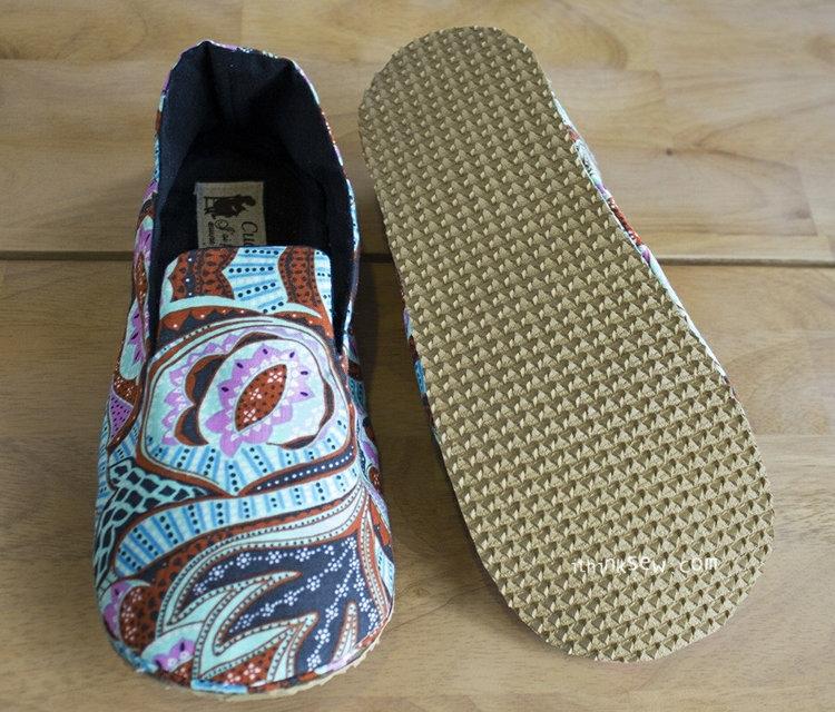 Picture of Mason Women's Shoes PDF Pattern