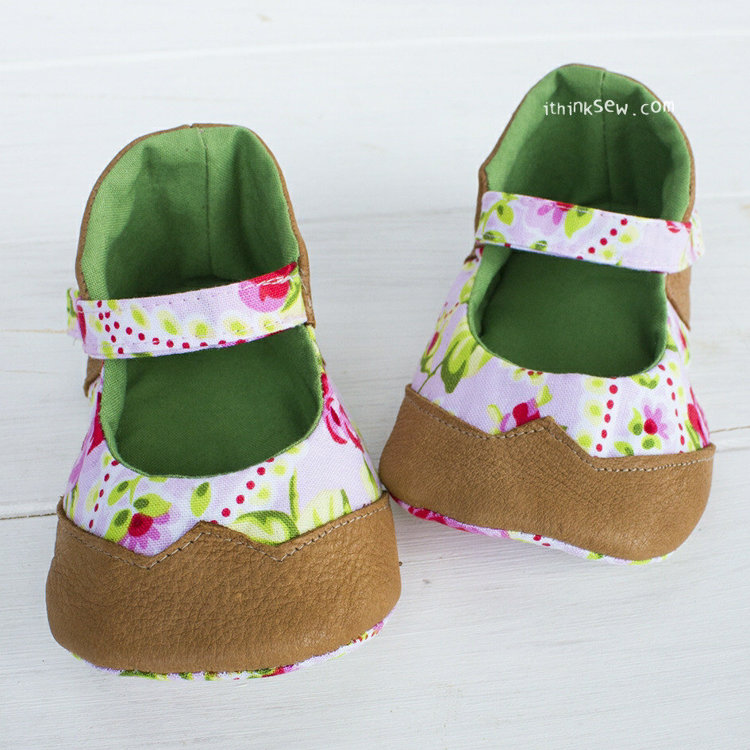 Picture of Gabriella Baby Shoes PDF Pattern
