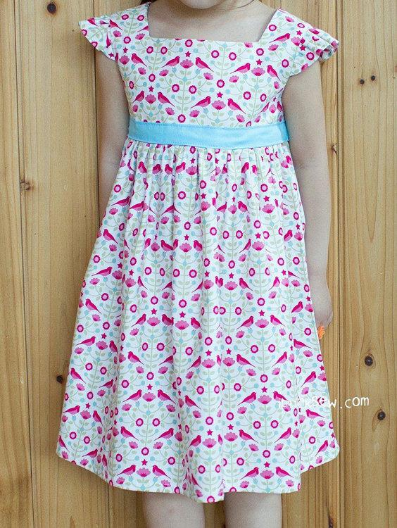 Picture of (3Y - 10Y) Adalyn Dress PDF Pattern