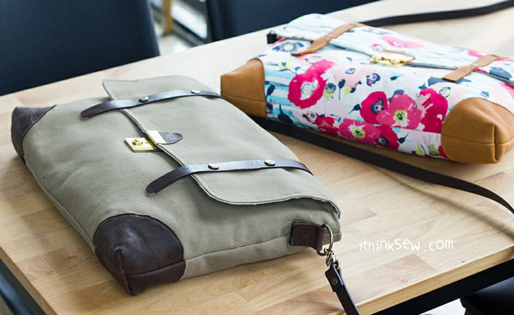 Picture of Kayce Briefcase PDF Pattern