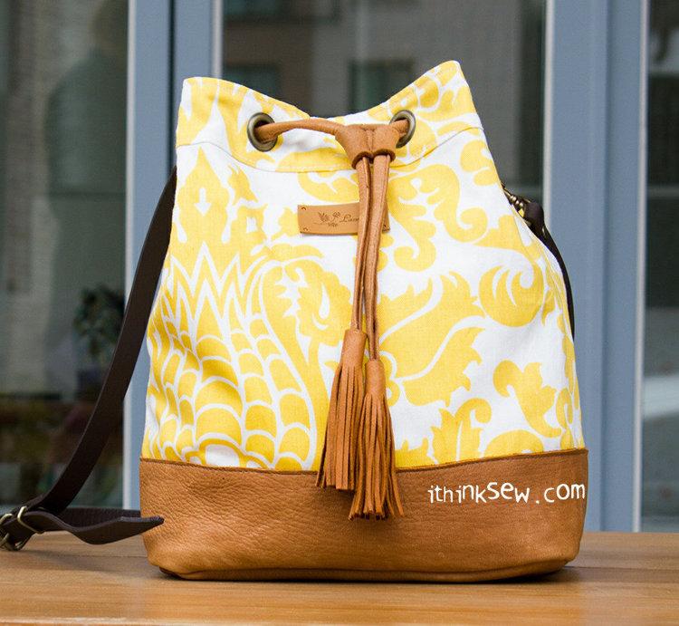 Picture of Natalie Bucket Bag PDF Pattern