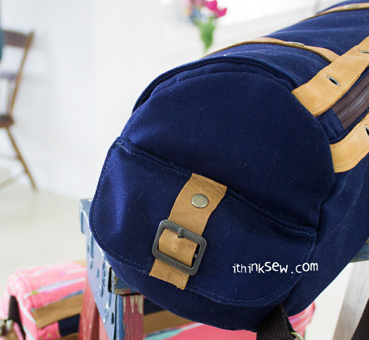 Picture of Corey Musette Bag PDF Pattern