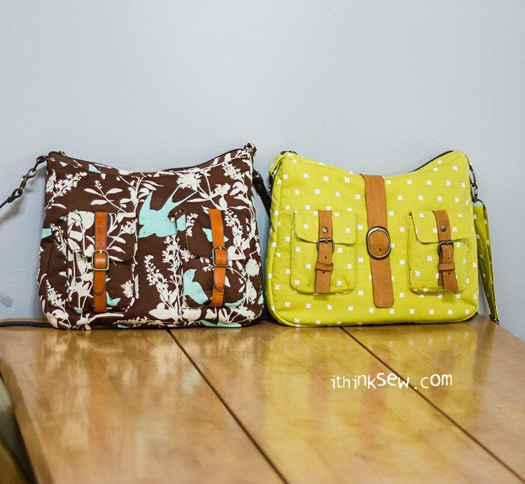 Picture of Miranda bag PDF Pattern
