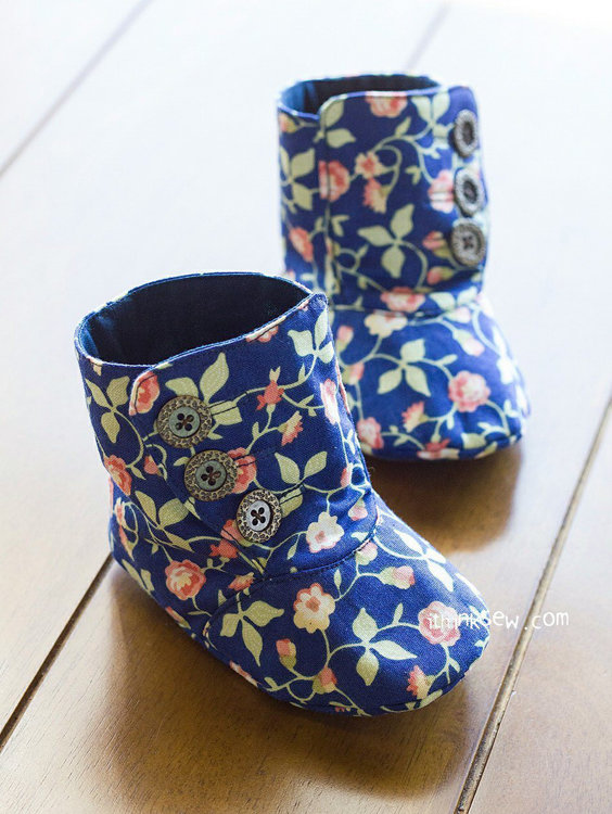 Picture of Perry Boots PDF Pattern