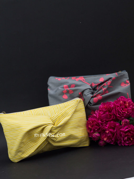 Picture of Sally Fold Over Clutch PDF Pattern
