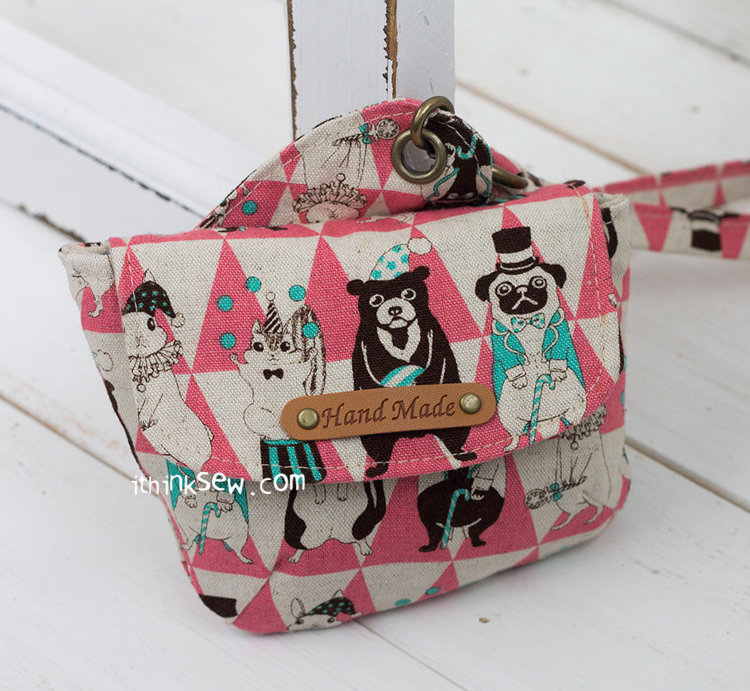 Picture of Blair Pouch PDF Pattern