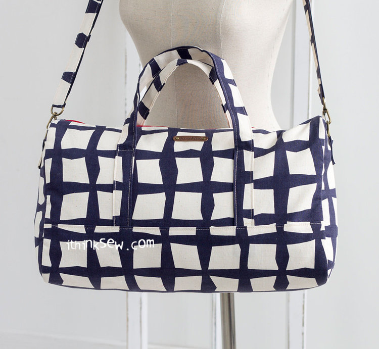 Picture of Courtney Duffle Bag PDF Pattern