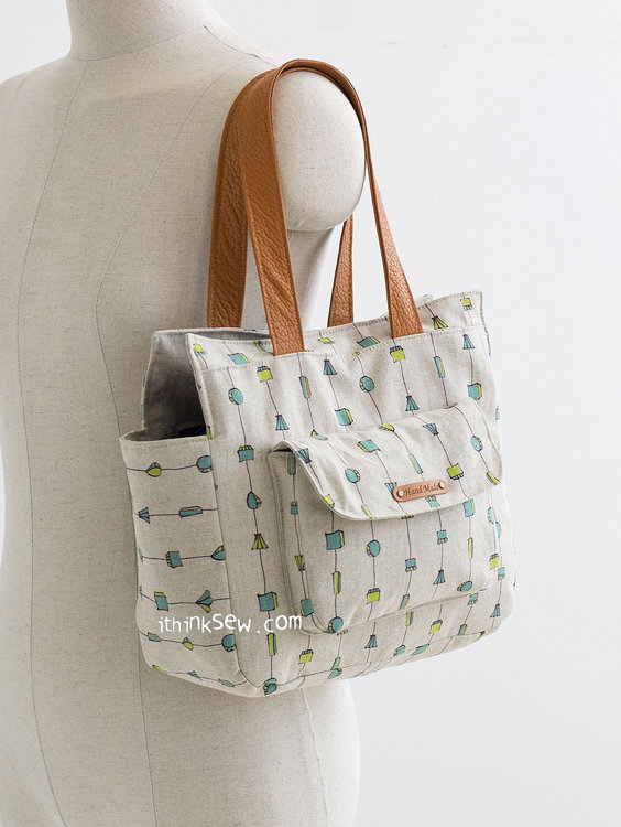 Picture of Reo Mini Bag & Lola Bag Combo PDF Pattern - 40% Off