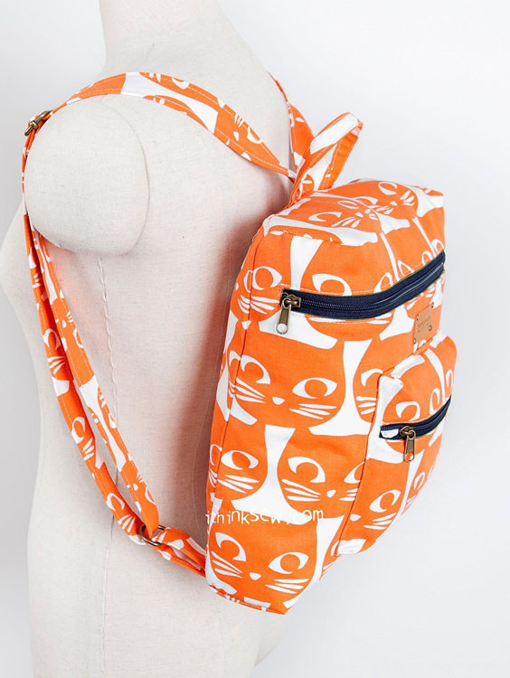 Picture of Tori Backpack PDF Pattern(2 Sizes)