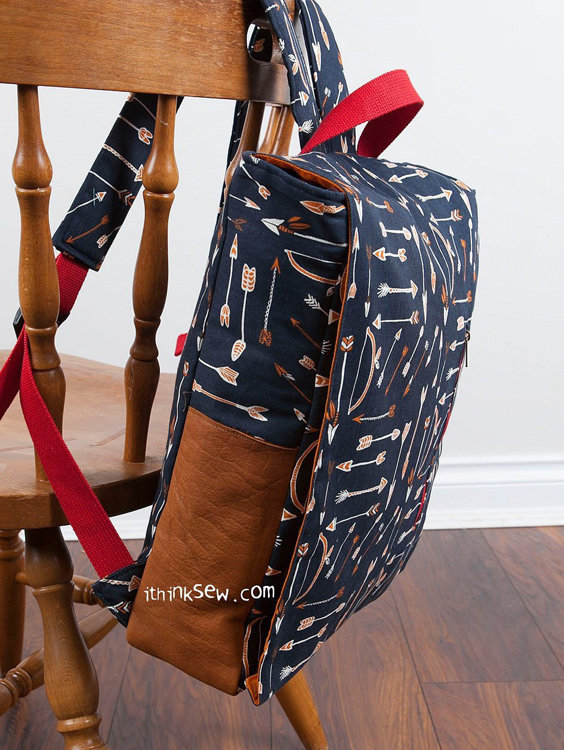 Picture of Ruther Backpack PDF Pattern