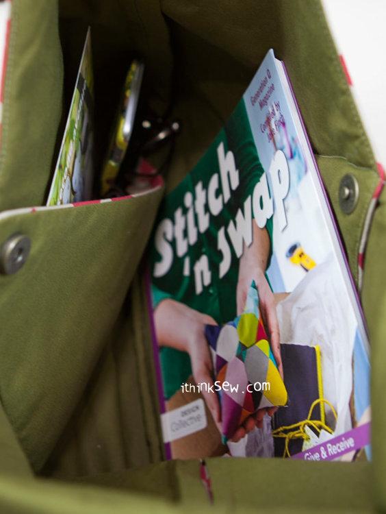 Picture of Mei Kimono Bag PDF Pattern