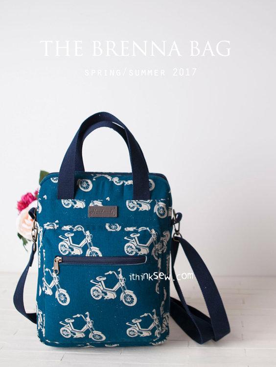 Picture of Brenna MacBook Bag PDF Pattern