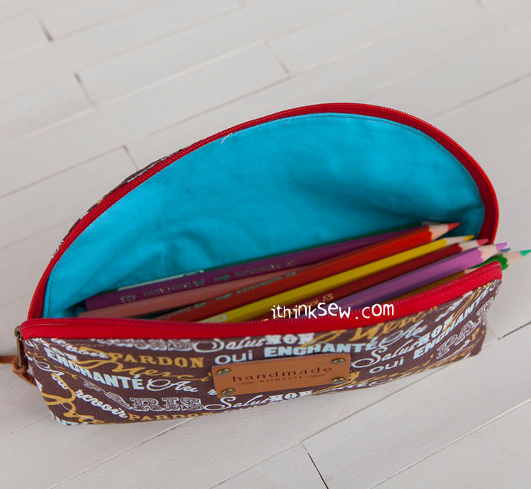 Picture of Melodie Pouches PDF Pattern (3 Sizes)