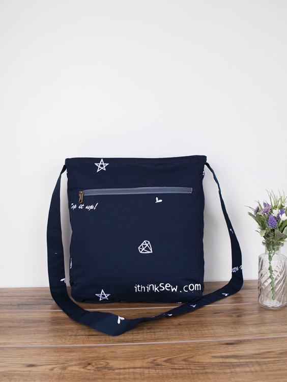 Picture of Jordana Messenger Bag PDF Pattern