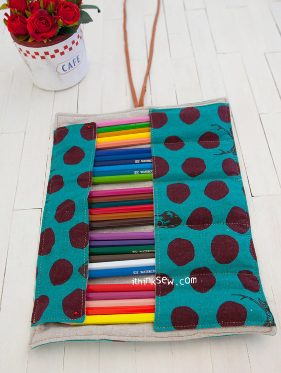 Picture of FREE - Angela Roll-up Pencil Case PDF Pattern