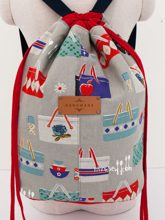 Picture of Rubens Travel Backpack PDF Pattern