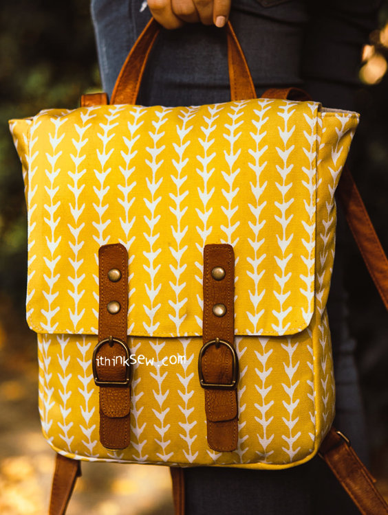 Picture of Tatiana Backpack PDF Pattern