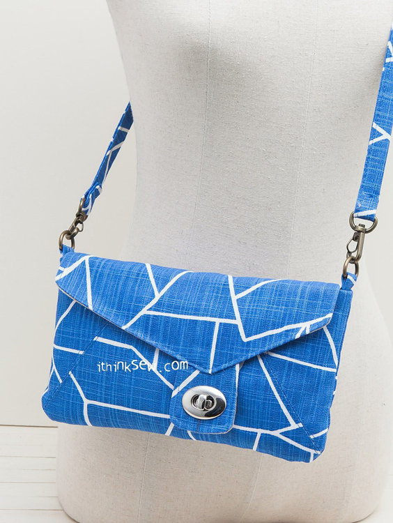 Picture of Polly Clutch Bag PDF Pattern (2 Sizes)
