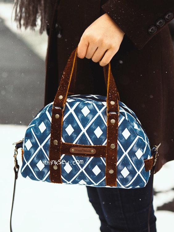 Picture of Carla Boston Bag PDF Pattern