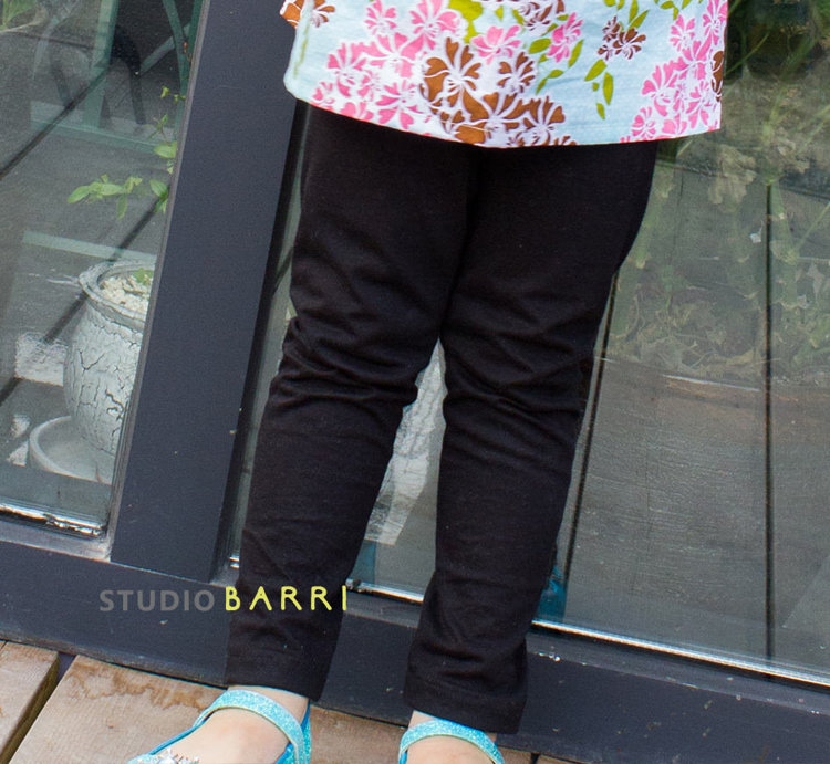 Picture of Brooke Girl's Leggings (3M - 10Y) PDF Pattern