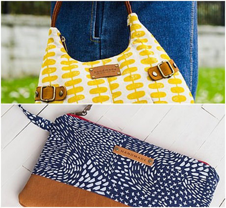 Picture of Two Kinds of Medium PU Leather Tag 10 EA - Free Shipping + 10% Off